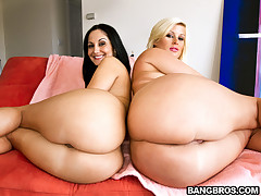 Julie Cash & Ava Addams. These three ladies have got foolish hot bodies with big juicy butts.