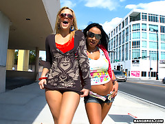 What not far from dudes? Today we got a sweet assparade update! Alexis Texas coupled with Mariah Milano are here to count not far from us coupled with they brought some irritant to back them up! These two ladies are fucking amazing at sucking dick, riding