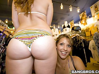 Ass Parade episode: Kelsey Michaels, & Alina Aldamen's Lucky Shopper