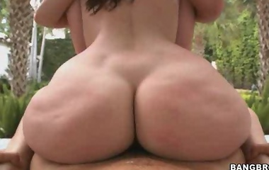 Kelly Divine & Sydney Thomas. These girls are new to the biz and man are they packing some big asses!