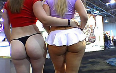 Huge Asses, served hot and juicy!