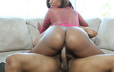 Delicious black booty gets ass-fucked