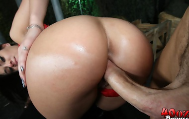 Charley Chase gets her big latina ass pounded